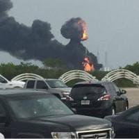 Florida, esplosioni al Kennedy space center di Cape Canaveral