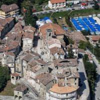 Terremoto: le tendopoli viste dall'alto