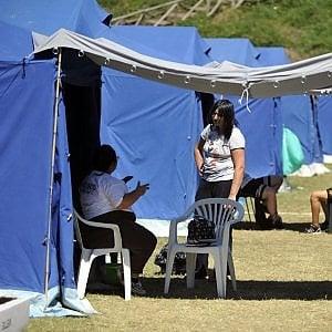 Terremoto, la fuga dei bambini. E intanto individuato un altro corpo