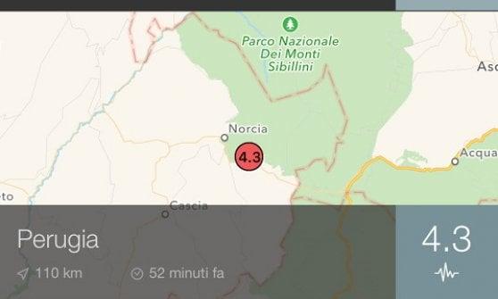 Terremoto, ancora paura nel centro Italia: scosse in provincia di Perugia e Ancona