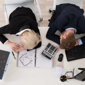 consigli per la perdita di peso impiegati in ufficio