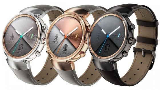 Ifa 2016, ZenWatch 3: lo smartwatch Asus a lunga durata