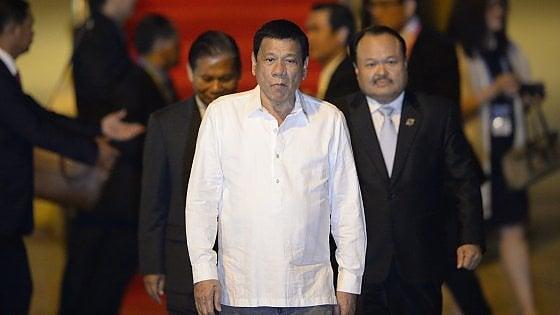 """Filippine, presidente Duterte contro Obama: """"Te la farò pagare"""""""