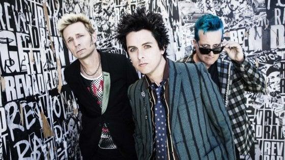Green Day, il tour europeo si apre in Italia: quattro date a gennaio