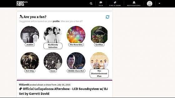 Musica, dagli Stati Uniti il social network per veri fan