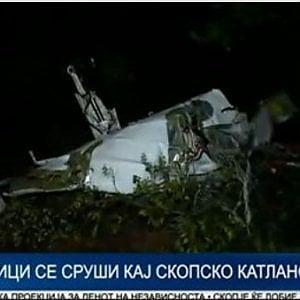Aereo precipita in Macedonia: morti sei italiani