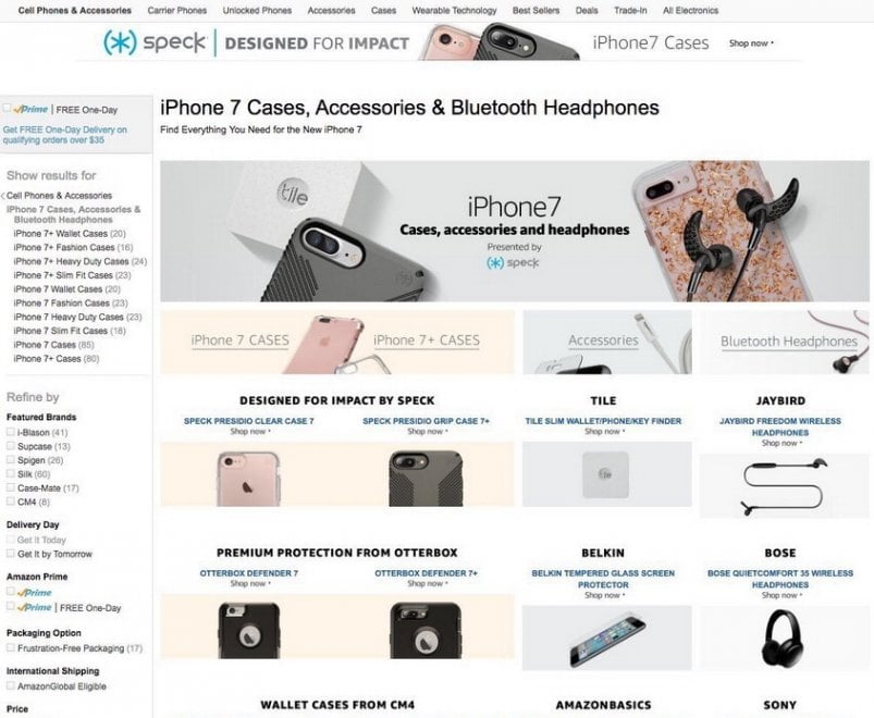 Leak su Apple e Amazon: l'iPhone 7 svelato prima del lancio