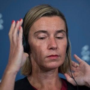 """Federica Mogherini: """"Dopo Brexit niente più scuse, ora può nascere la Difesa europea"""""""