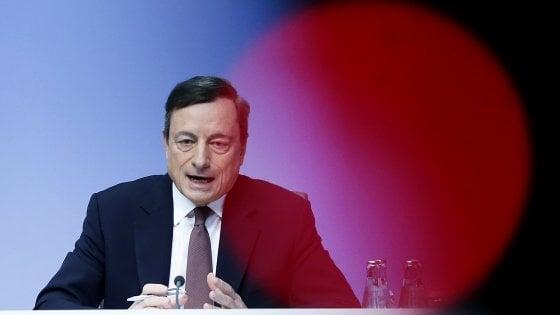 La Bce non tocca i tassi. Draghi aspetta ad allungare il Quantitative easing