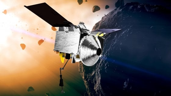Sbarco sull'asteroide la missione che svelerà le origini della vita