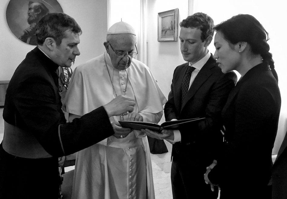 Il reportage di Zuckerberg: gli incontri con papa Francesco, Renzi e il viaggio in Africa