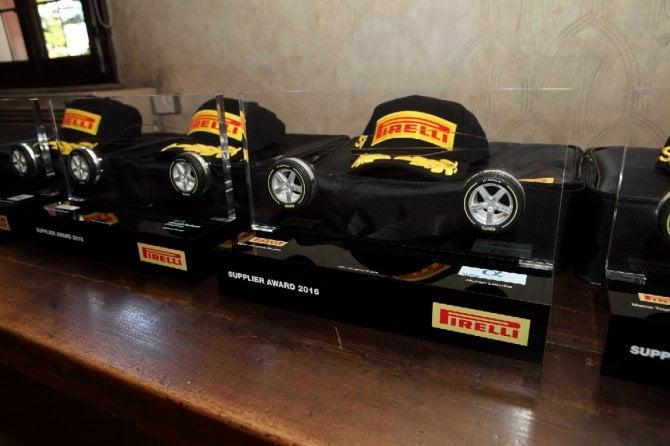 Pirelli, fornitori in pole