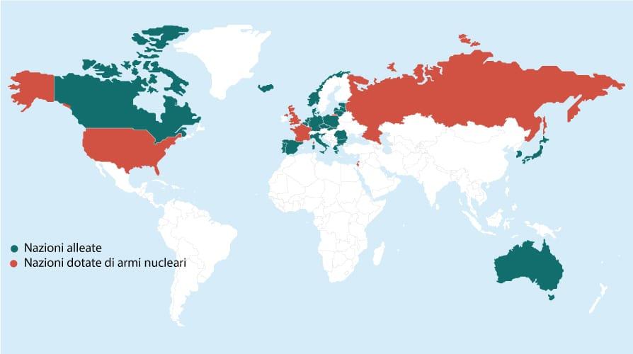 Cartina Centrali Nucleari Nel Mondo.Le Testate Nucleari Nel Mondo La Mappa La Repubblica