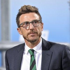 """Sassuolo, Di Francesco senza paura: """"Con la Juve l'occasione per fare grandi cose"""""""