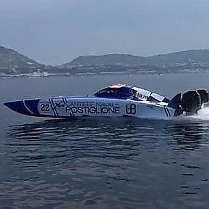 Motonautica, Postiglione fa il record tra Capri e Baia