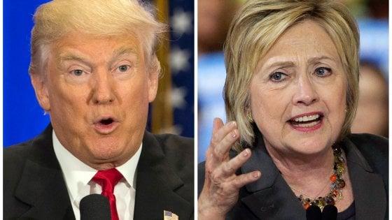 """Elezioni Usa, Clinton attacca Trump: """"Miserabili la metà dei suoi sostenitori"""""""