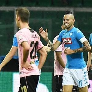 Palermo-Napoli 0-3: azzurri sul velluto, la Juve resta a 2 punti
