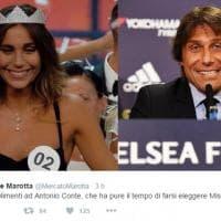 Miss Italia 2016, la somiglianza tra la vincitrice e Antonio Conte: ironia sui social