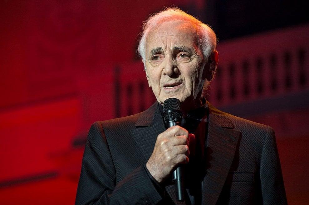 Charles Aznavour, i 70 anni di carriera si celebrano live a Verona