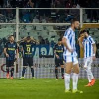 Pescara-Inter 1-2, Icardi regala la prima gioia a de Boer