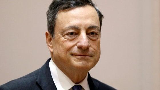 Draghi, per l'Europa è necessario completare il mercato unico e l'unità politica