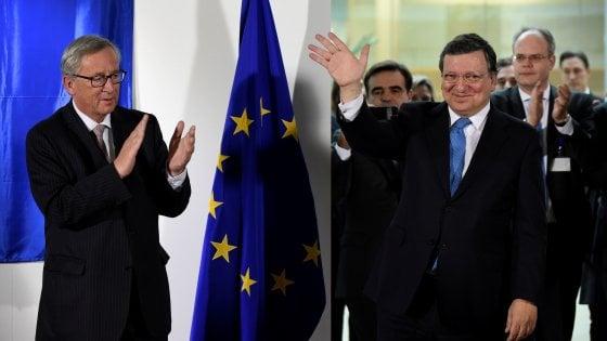 """Ue: Barroso attacca Juncker, """"contro di me azione discriminatoria"""""""
