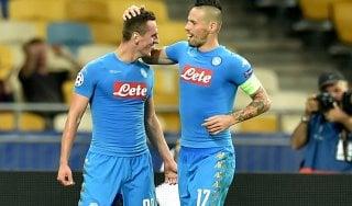 Dinamo Kiev-Napoli 1-2: azzurri già in testa al girone B, ci pensa Milik
