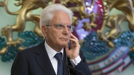 """Referendum, Mattarella: """"Sovranità è degli elettori"""""""