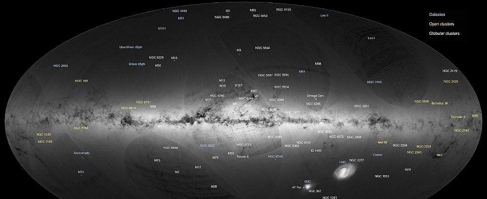 La Via Lattea in 3D: ecco il primo censimento stellare di Gaia