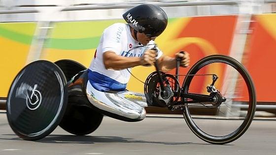 Paralimpiadi, il ciclismo è d'oro. Zanardi, Podestà e Mazzone trionfano