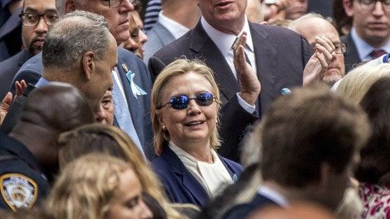 """""""Hillary Clinton in salute, adatta a essere presidente Usa"""". Trump soffre di pressione alta e colesterolo, curati con farmaci"""