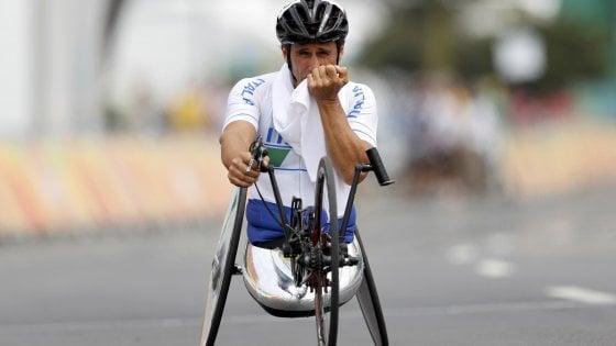 Paralimpiadi, ancora a medaglia Zanardi e Mazzone: dopo l'oro ecco l'argento
