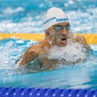 Paralimpiadi: a Rio con Morlacchi e Bettella sono ancora bracciate d'argento