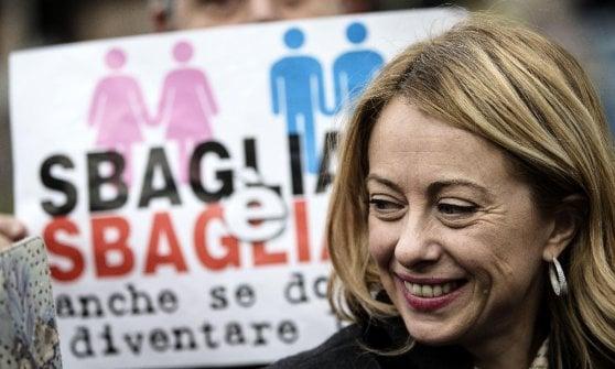 Fiocco rosa per Giorgia Meloni: è nata Ginevra