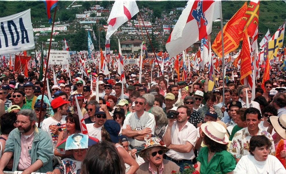 Lega, la marcia del Po vent'anni dopo