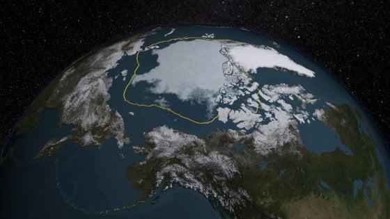 Clima, il ghiaccio dell'Artico ha toccato l'estensione minima a settembre