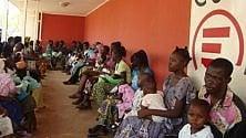 L'ospedale pediatrico  di Bangui  nella Repubblica Centrafricana
