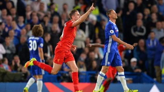 Inghilterra, Klopp dà scacco a Conte: il Liverpool batte il Chelsea