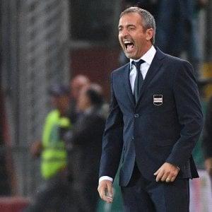 """Sampdoria, Giampaolo: """"Non meritavamo di perdere"""""""