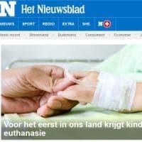 Belgio, primo caso al mondo eutanasia su minore. Cei: