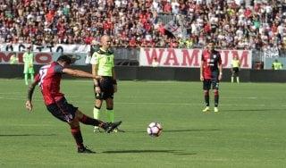 Cagliari-Atalanta 3-0: Borriello travolge i nerazzurri