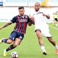 Crotone-Palermo 1-1: primo punto in serie A per i calabresi e per De Zerbi