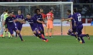 Fiorentina-Roma 1-0, Badelj beffa i giallorossi