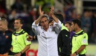 """Fiorentina, Paulo Sousa: """"Bravi e fortunati"""""""