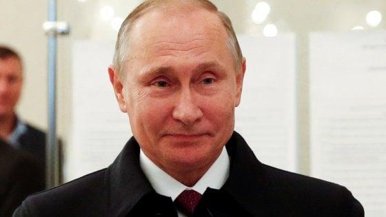 Russia, Putin stravince le elezioni
