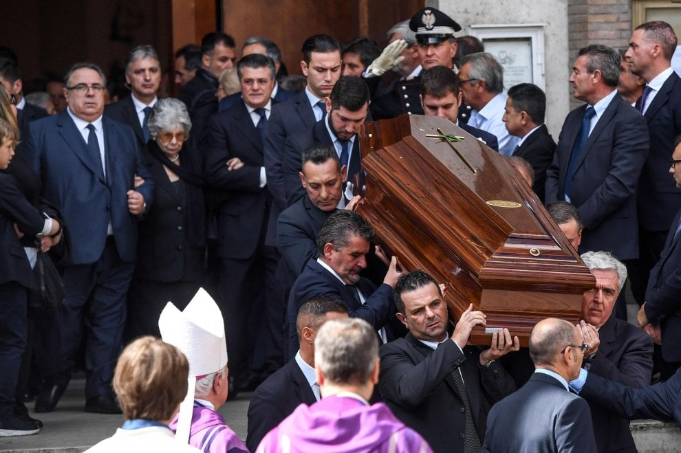 L'ultimo saluto al presidente Ciampi