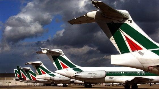 Alitalia, l'Anpac conferma lo sciopero del 22 settembre