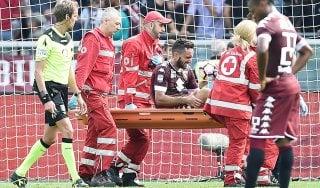 Torino, Mihajlovic perde Molinaro: rottura del crociato anteriore
