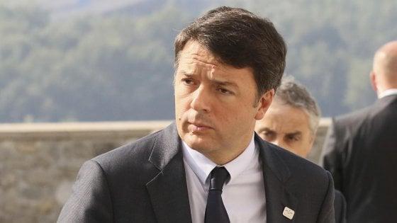 """Renzi a NY: """"Migranti problema Ue ma da Juncker solo parole. L'Italia farà da sola"""""""