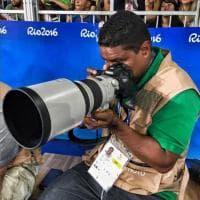 Joao Maia da Silva, il fotografo ipovedente che racconta le Paralimpiadi